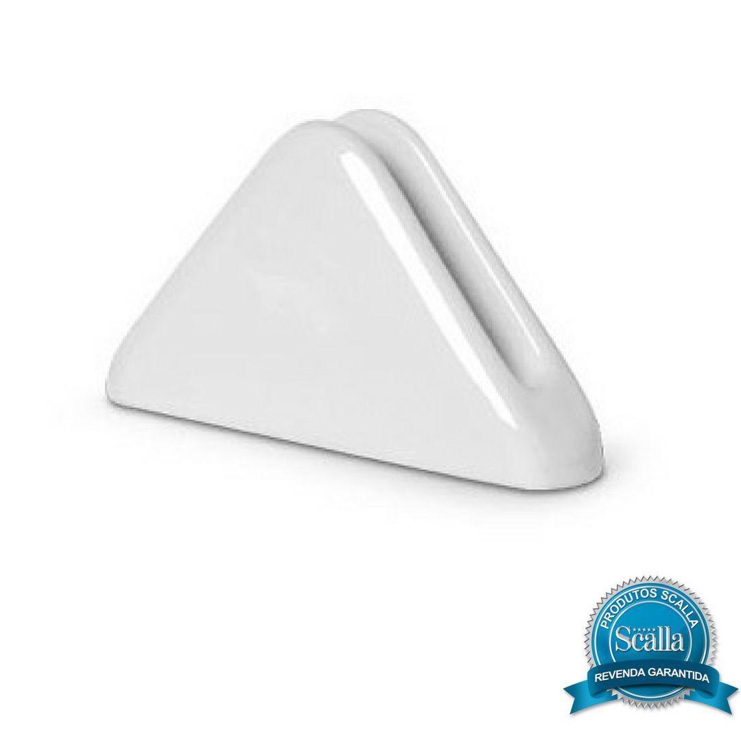 Porta Guardanapo em Cerâmica Standard Branco - Scalla