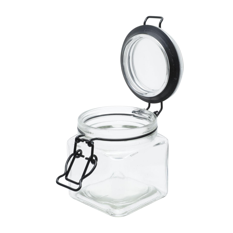 Pote Hermético Flip Preto 360 ml