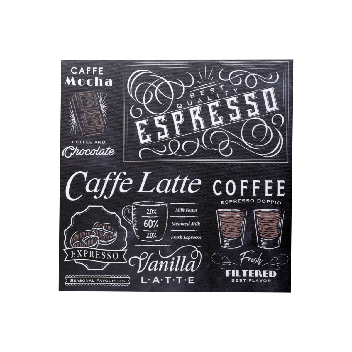 Quadro Tela Expresso Coffee