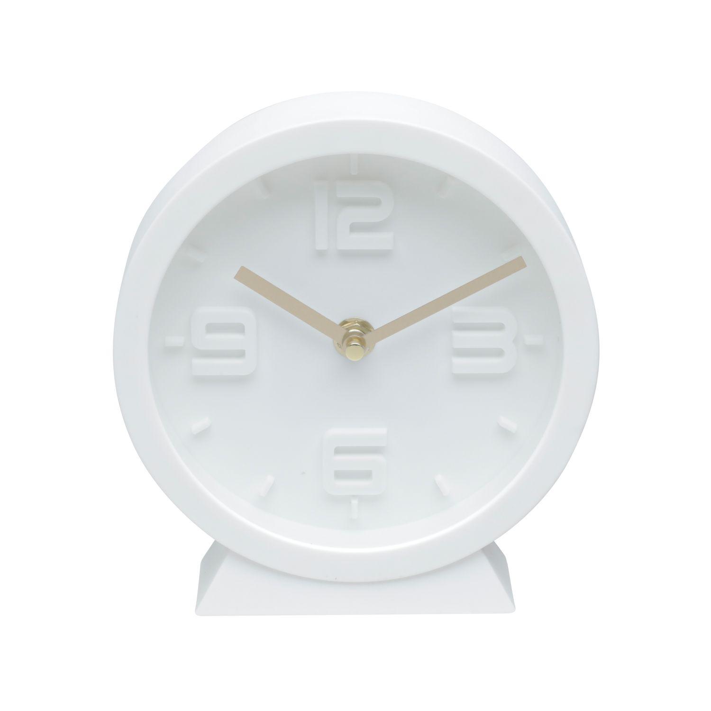 Relógio de Mesa Style Branco