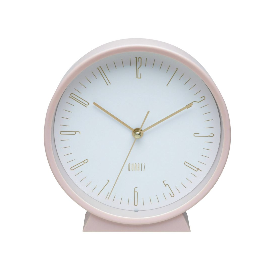 Relógio de Mesa Style Rosa