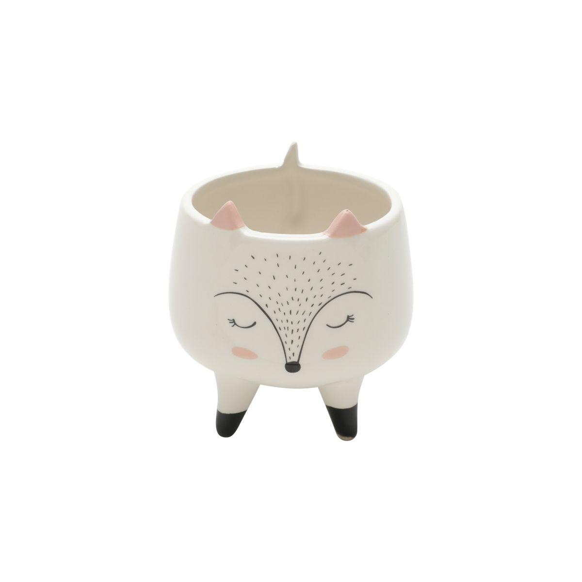 Vasinho Cachepot em Cerâmica Fox - Urban