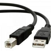 Cabo de Dados USB 2.0 a Macho X USB 2.0 B Macho 1,8M CBUS0007 Preto STORM