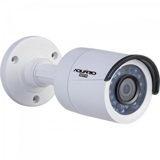 Camera Bullet TVI 20M 3,6MM CB-3620-1 Branco Aquario