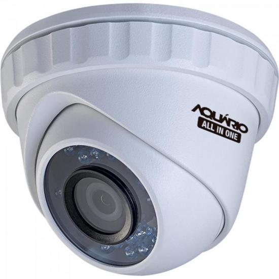 Camera Dome ALL IN ONE 20M 3,6MM CDF-3620-1 Branco Aquario