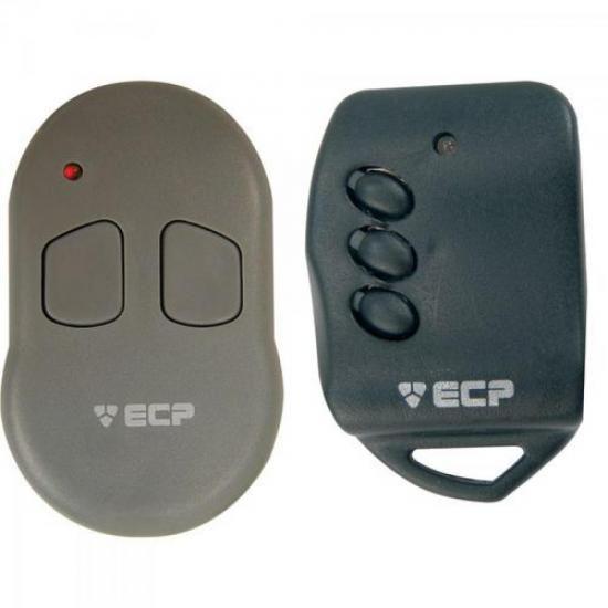 Controle Remoto para Alarme Portao 433MHZ KEY 3 Botoes ECP