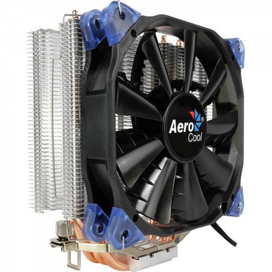 Cooler para Processador Verkho 4 Preto Aerocool