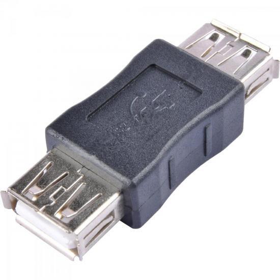 Emenda USB a Femea X a Femea EMUS0002 Preto STORM