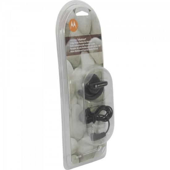 Fone de Ouvido EAR Flexivel P/ Radio Talkabout 53728A Preto Motorola