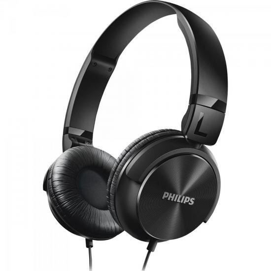 Fone de Ouvido Estilo DJ com Graves Nitidos SHL3060BK/00 Preto Philips