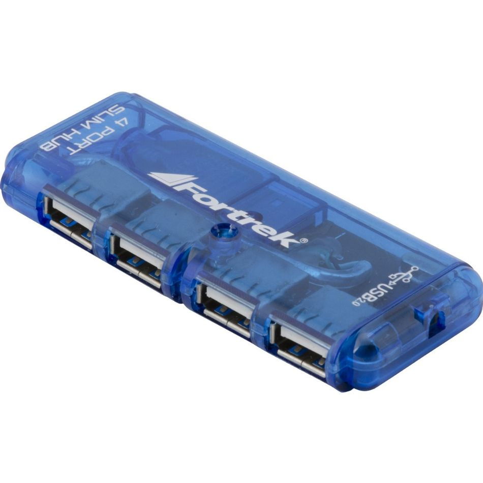 Hub 4 Portas USB 2.0 HBU-402 Fortrek