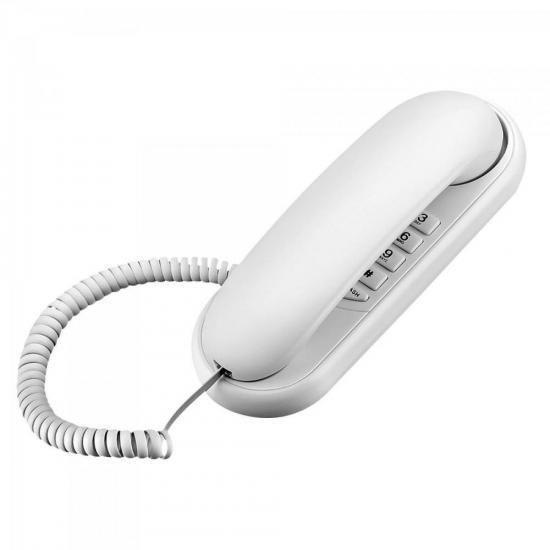 Interfone Interno SE400 Branco Multilaser