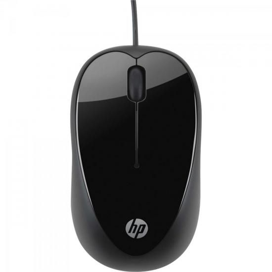 Mouse USB 1600 DPI X1000 Preto HP
