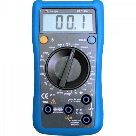Multimetro Digital ET-1100A Minipa