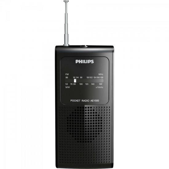 Radio Portatil AM/FM AE1500X/78 Preto Philips