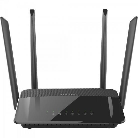 Roteador Wireless 1200MBPS DIR-822-A1 Preto D-LINK
