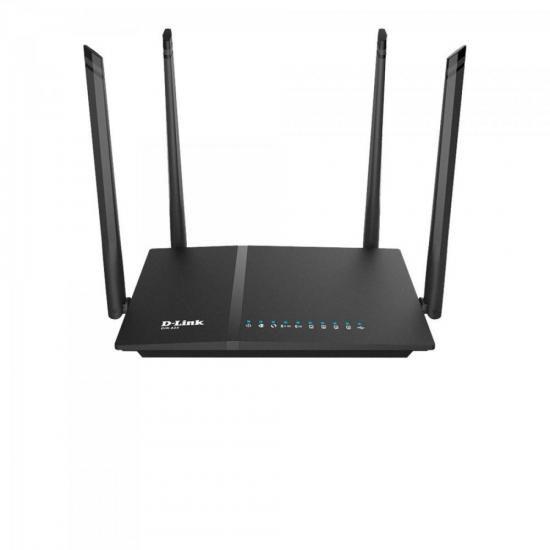 Roteador Wireless 1200MBPS DIR-825 Preto D-LINK