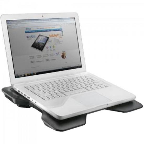 Suporte para Notebook com Cooler Acoplado AC123 Preto Multilaser