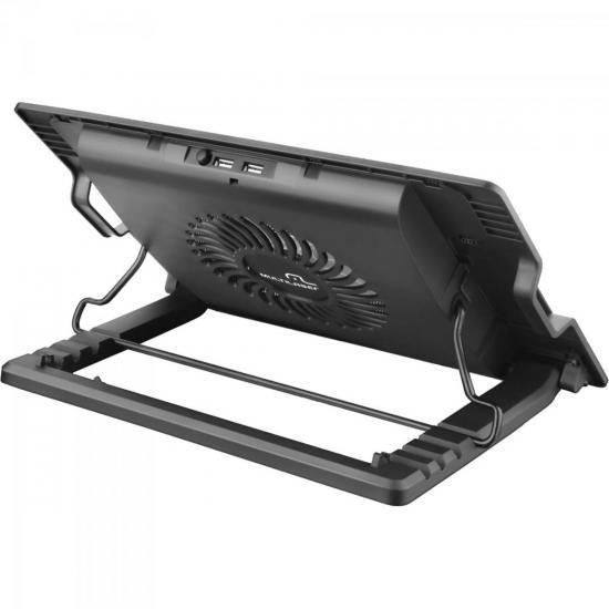 Suporte para Notebook com Cooler Acoplado AC166 Preto Multilaser