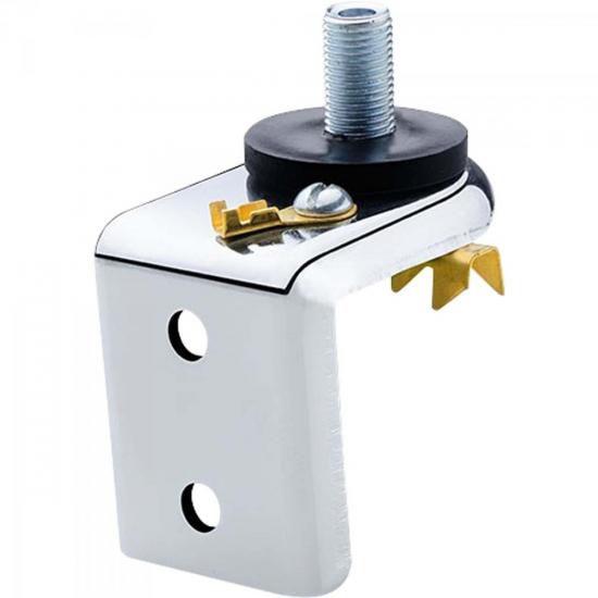 Suporte Simples para Antena Marinox B-3007 Prata Aquario