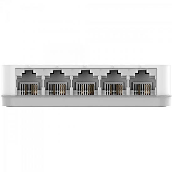 Switch FAST 5 Portas 100MBPS DES-1005C Branco D-LINK