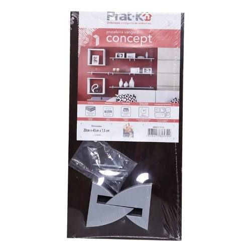 Prateleira Tabaco Concept Vanguard 20 x 40 x 1,5 Prat-k