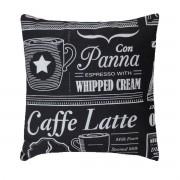 Capa Para Almofada Decorativa Belize Estampa Coffe Latte