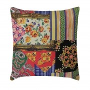 Capa Para Almofada Decorativa Belize Estampa Patchwork