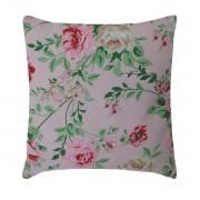 Capa Para Almofada Decorativa Belize Flower Rosa