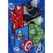 Cobertor Manta Fleece Avengers Vingadores Infantil Lepper