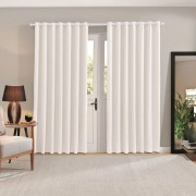 Cortina Blackout 100% Comfort Off White 2,60 x 2,30 Bella Janela