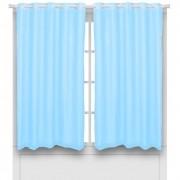 Cortina Blackout Pratika 2,60m x 1,70m Lisa Slim Azul Celeste Delicatta