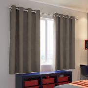 Cortina Blackout Tecido Cancun Bronze 2,80 x 1,80 Santista