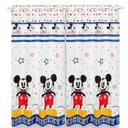 Cortina Infantil Com Forro Blackout Mickey Play 2,00 x 1,80 Santista