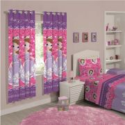 Cortina Infantil Princesa Sofia Dream Com Forro Blackout 2,00 x 1,80 Santista