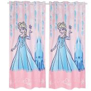 cortina infantil Rosa menina Frozen 2,00 x 1,80 Lepper