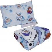 Kit Infantil Frozen Edredom + Jogo De Cama 3 Peças Lepper