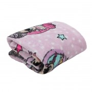 Manta Infantil Lol Surprise Lilás Super Soft Fleece Lepper