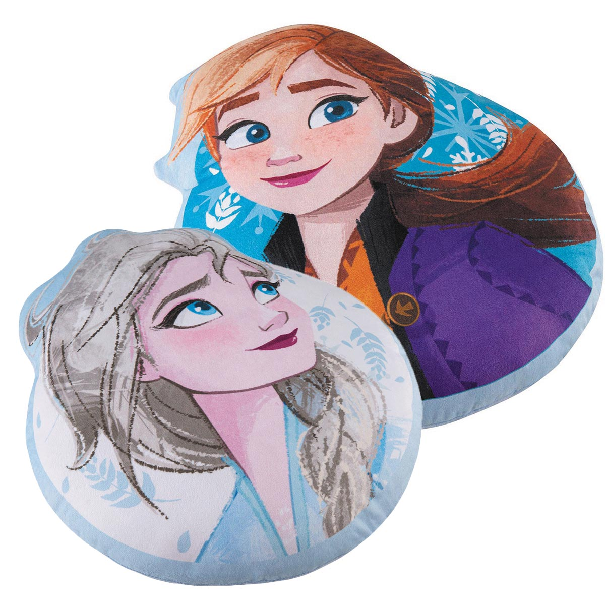 Almofada Infantil Personagem Frozen Anna E Elsa Lepper