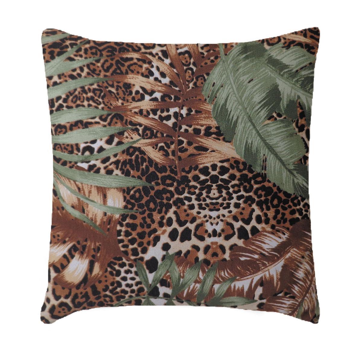 Capa Para Almofada Decorativa Belize Estampa AnimalPrint