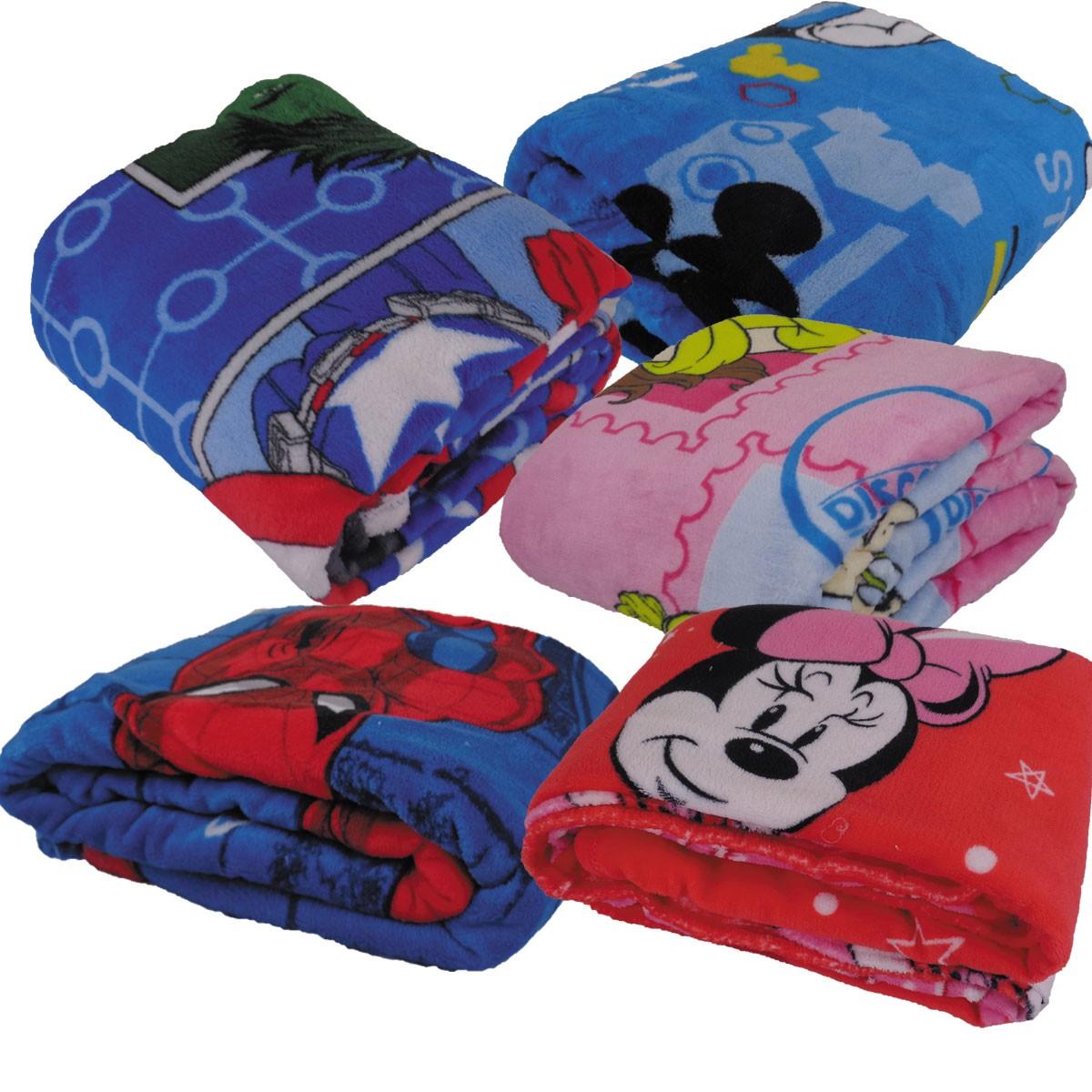 Cobertor Infantil Juvenil Manta Fleece Microfibra Soft Jolitex