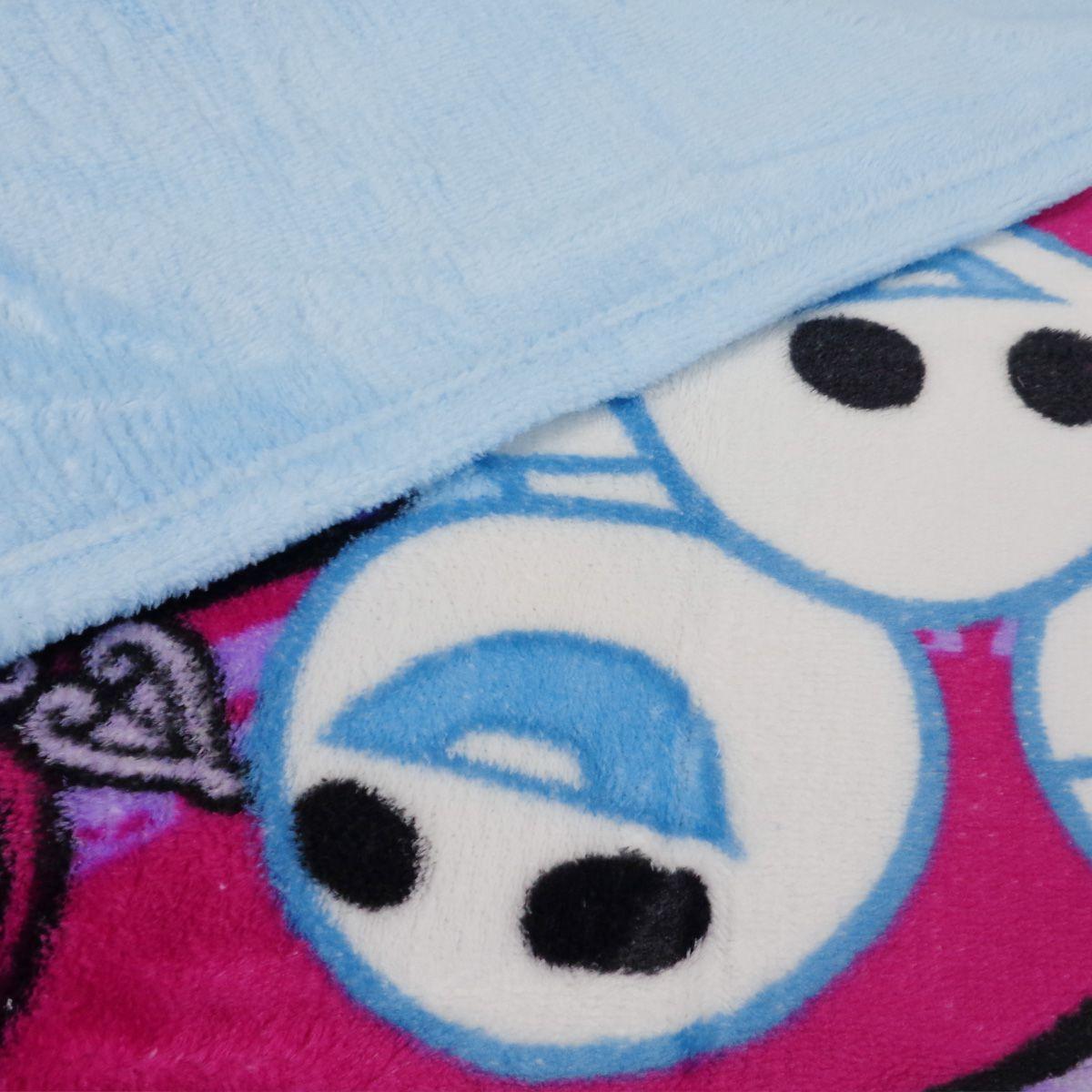 Cobertor Manta Fleece Frozen Ana E Elsa Infantil Lepper