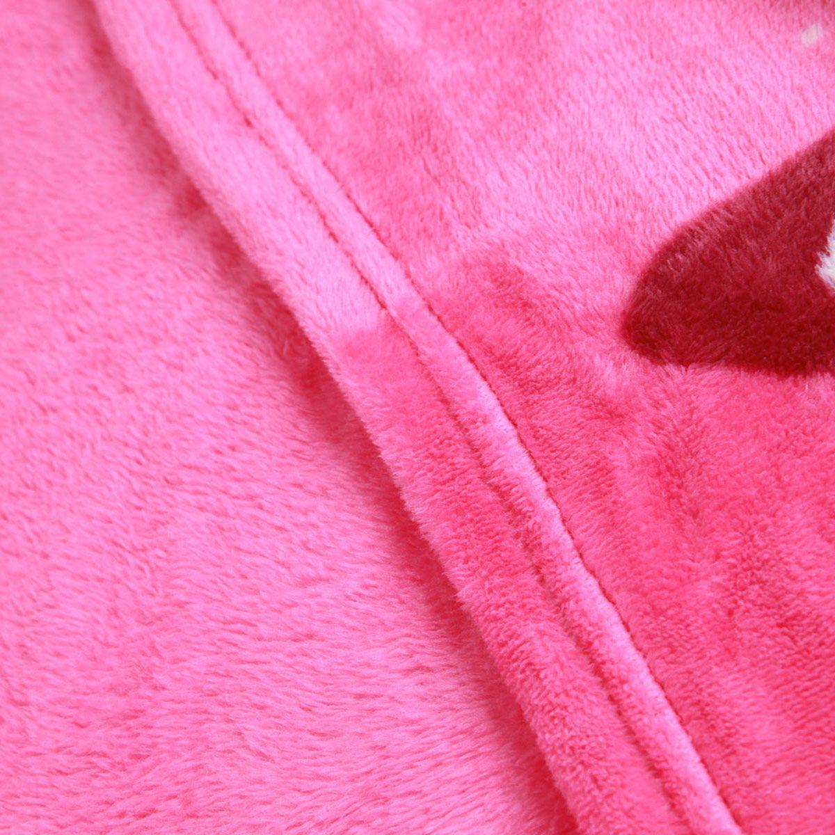 Cobertor Manta Fleece Patrulha Canina Rosa Infantil Lepper