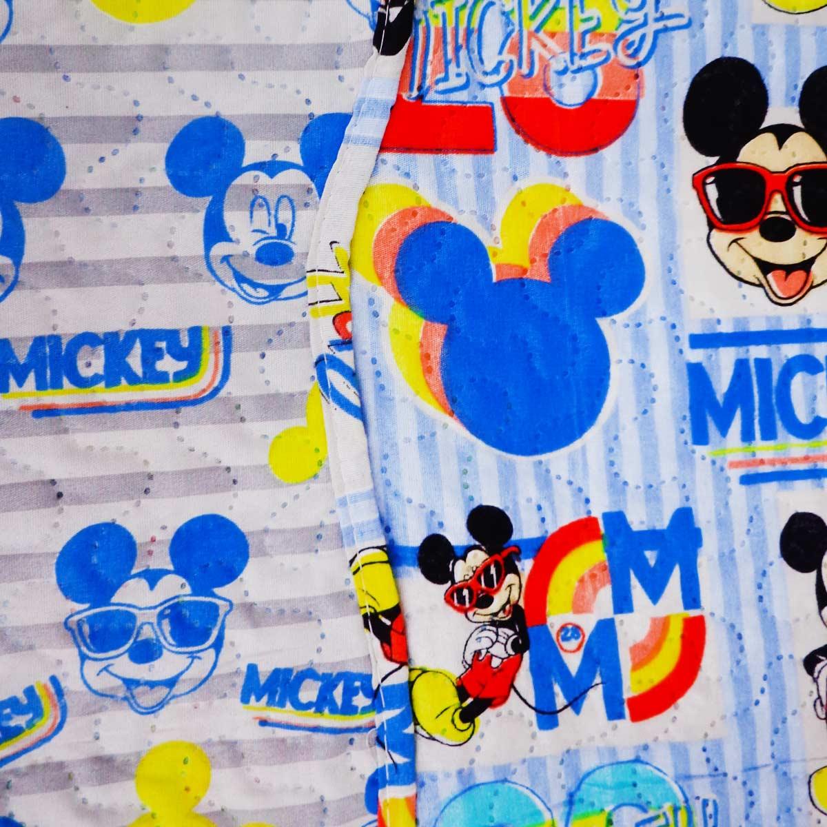 Colcha Infantil Mickey Mouse Menino Solteiro Ultrasonic Jolitex