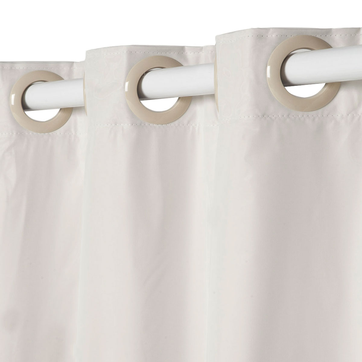 Cortina Blackout Pratika Lisa Slim Marfim 3,60 X 2,50 Bella Janela