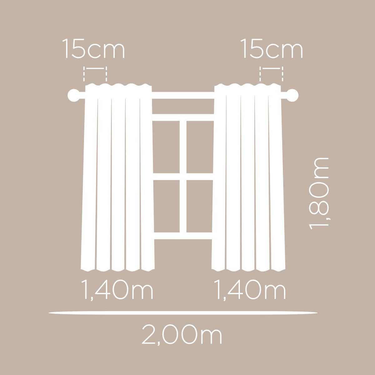 Cortina Corta Luz Para Quarto Meninas 2,0m x 1,80m Londres Basic Sereias Santista