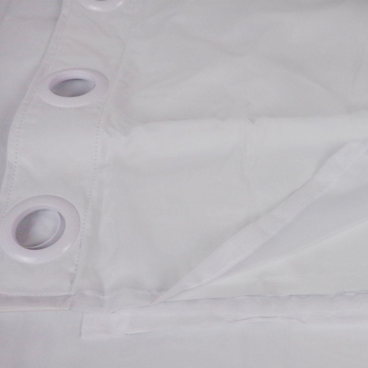 Cortina Em Voil Branca Com Forro Blackout 2,60 x 2,30 Bella Janela