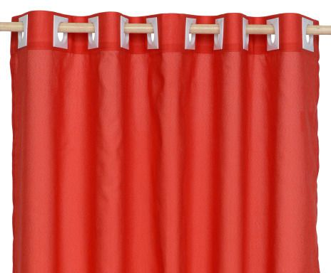 Cortina Essencial Londres Vermelha 2,00 x 2,30 Santista