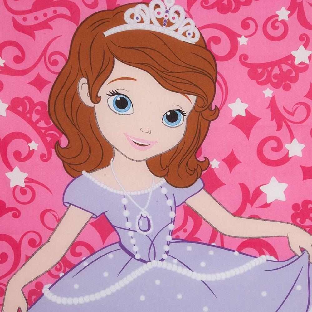 Cortina Infantil Princesa Sofia Dream Com Forro Blackout 2,00 x 1,80 Santista