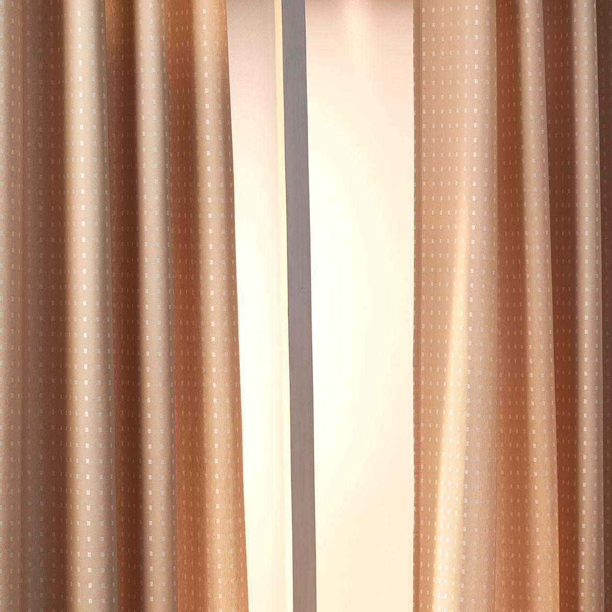 Cortina Janela Nova York Linho Com Forro Blackout 2,00 x 1,80 Santista